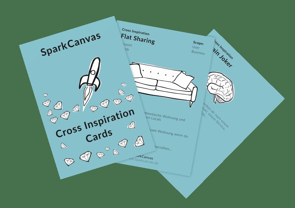 SparkCanvas Inspiration Cards