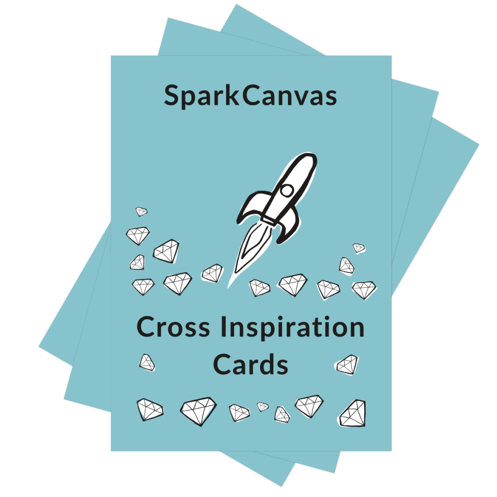 SparkCanvas Cross-Inspiration Cards